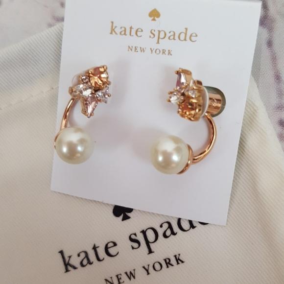 3c509f44f9665 NWT Kate Spade Rose Gold Earrings NWT